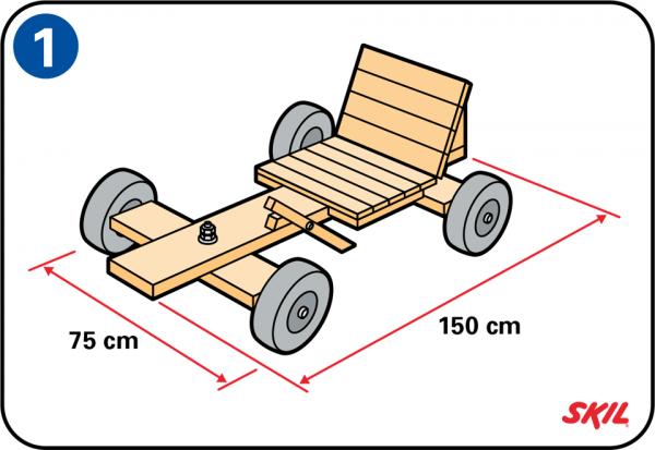 Gut bekannt Construire une caisse à savon XB38