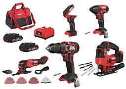 SKIL 3303 EA Kit combiné de 5 outils sans fil