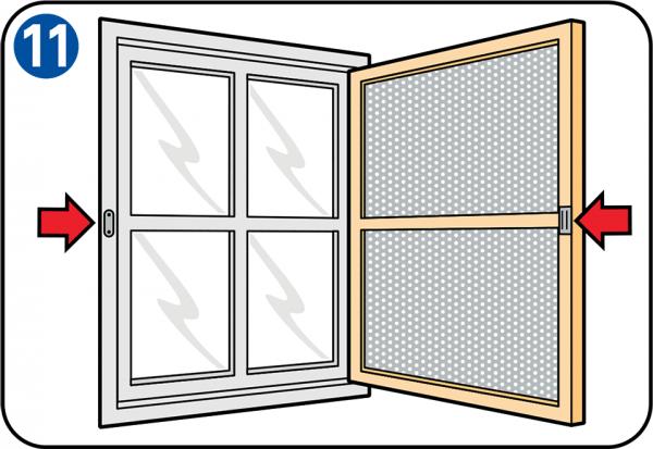Montaggio di zanzariere per porte e finestre - Tipi di zanzariere per porte finestre ...